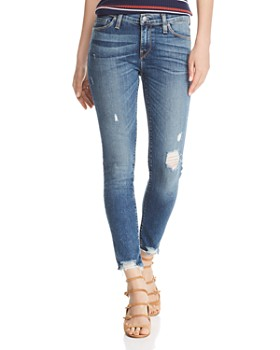 41d1e78ed99 Hudson - Tally Skinny Jeans in Side Bar ...