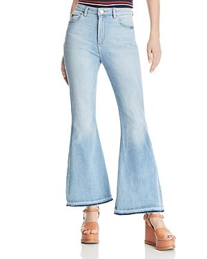 60s – 70s Pants, Jeans, Hippie, Bell Bottoms, Jumpsuits DL1961 Rachel Flare Jeans in Topanga AUD 203.81 AT vintagedancer.com