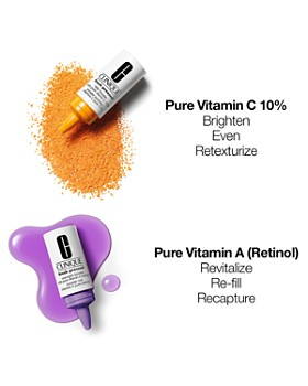 Clinique - Fresh Pressed Clinical™ Daily + Overnight Boosters with Pure Vitamins C 10% + A (Retinol) 1+1 System