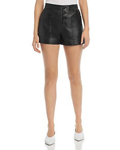 Joie - Nirel B Leather Shorts