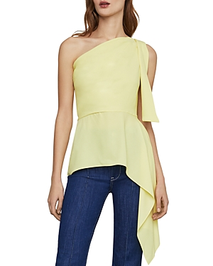 Bcbgmaxazria Tops ONE-SHOULDER ASYMMETRIC TOP