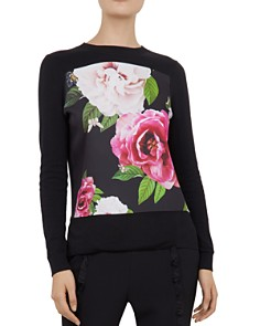 Ted Baker - Kyniie Magnificent Floral-Printed Sweater