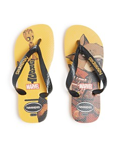 havaianas - Boys' Marvel Groot Flip-Flops - Toddler, Little Kid