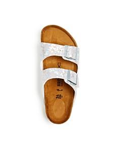 Birkenstock - Girls' Arizona Hologram Slide Sandals - Toddler, Little Kid
