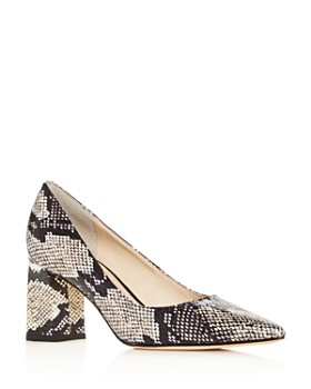 Marc Fisher LTD. - Women's Zalas Pointed-Toe Block-Heel Pumps