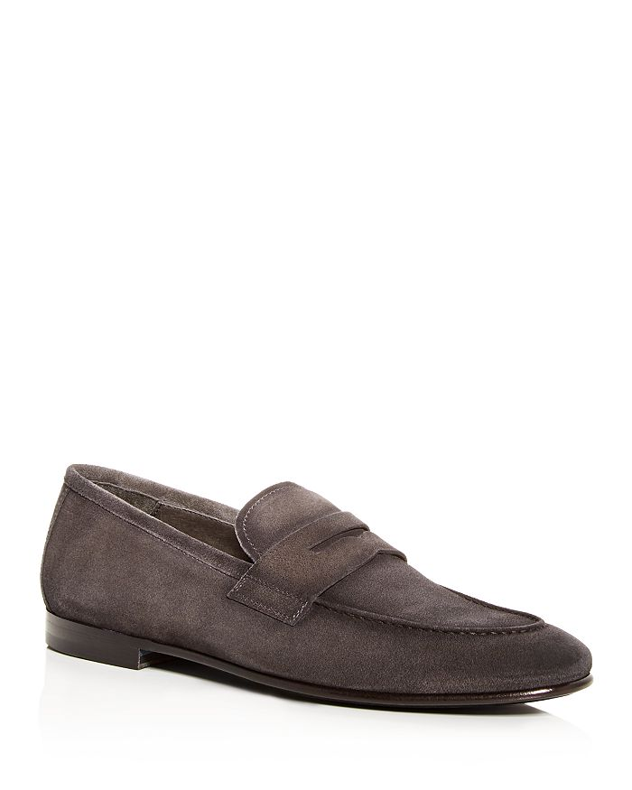 To Boot New York - Men's Enzo Suede Penny Loafers