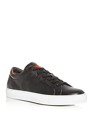 To Boot New York Men's Knox Leather Low-Top Sneakers