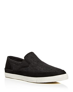 John Varvatos Star USA - Men's Jet Denim & Suede Slip-On Sneakers