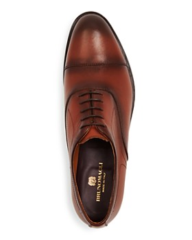Bruno Magli - Men's Bellino Leather Cap-Toe Oxfords