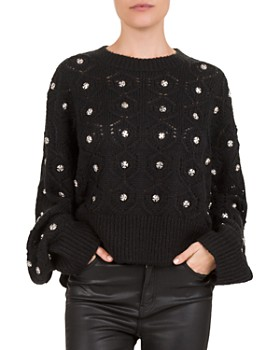 The Kooples - Embellished Batwing Sweater ... b88445630