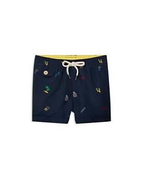 42c343cf09b Ralph Lauren - Boys  Traveler Print Swim Trunks - Baby ...