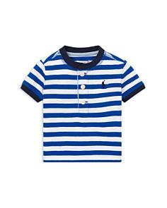 Ralph Lauren - Boys' Stripe Cotton Jersey Henley - Baby