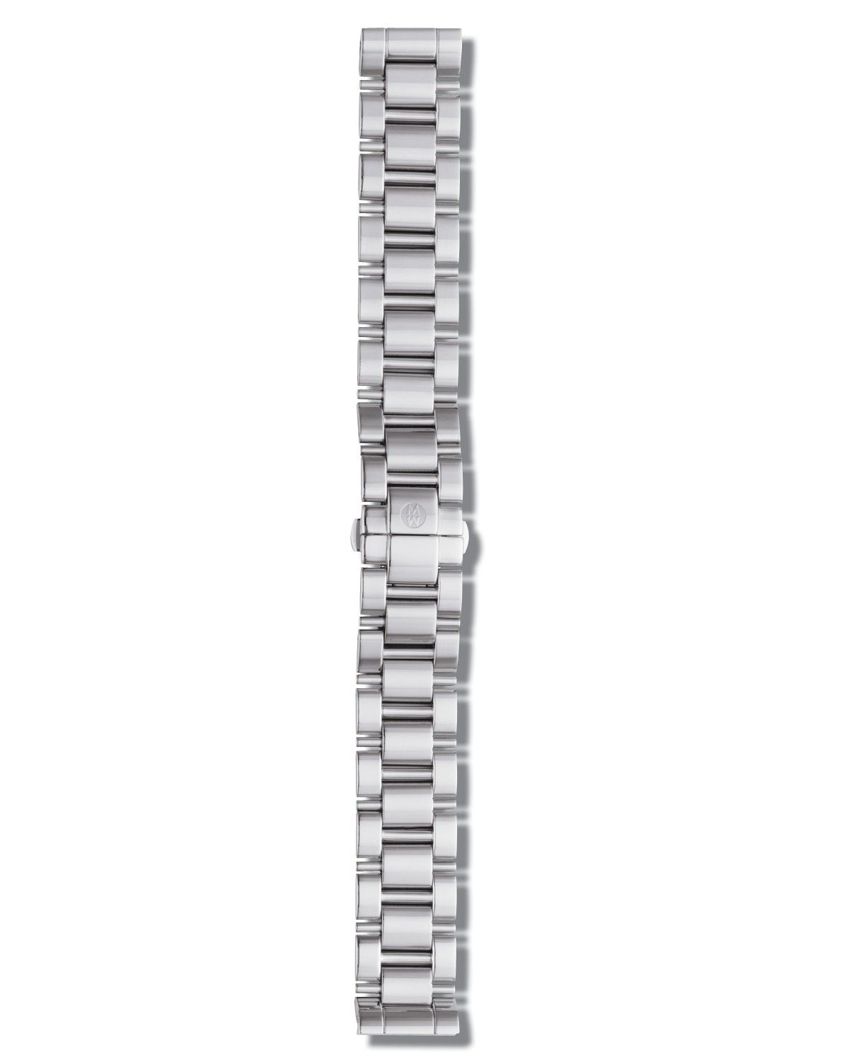 Michele 18mm Deco Stainless Steel Three-Link Bracelet gfblPoo