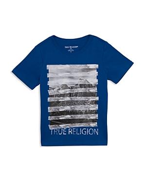 True Religion Boys' Digital-Stripe Graphic Tee - Little Kid, Big Kid
