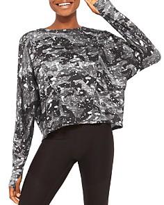 Terez - Splatter Camo Sweatshirt