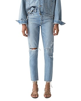 AGOLDE - Jamie High Rise Tapered Jeans in Shakedown