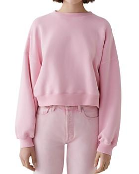 AGOLDE - Crop Sweatshirt