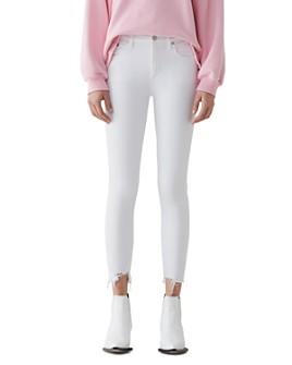 AGOLDE - Sophie High Rise Crop Skinny Jeans in Sanction