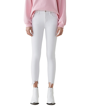 Agolde Sophie High Rise Crop Skinny Jeans in Sanction-Women