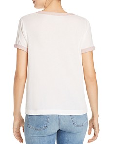 WILDFOX - Champagneover Ringer Tee