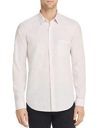 Theory - Rammy Hill Tonal-Plaid Regular Fit Shirt