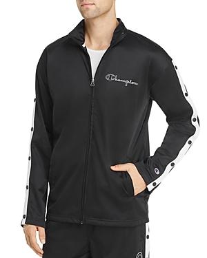 Champion Reverse Weave Snap-Sleeve Track Jacket