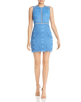 45f55aa268a AQUA - Lace Sheath Dress - 100% Exclusive ...