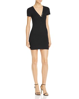 alexanderwang.t - Jersey Mini Dress ... f6b68d79e