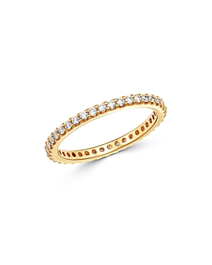 Bloomingdale's Diamond Eternity Stacking Band in 14K Yellow Gold, 0.50 - 100% Exclusive