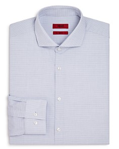 HUGO - Micro Dot Print Slim Fit Dress Shirt