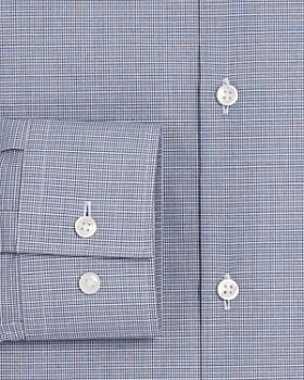 HUGO - Micro Double Grid Slim Fit Dress Shirt