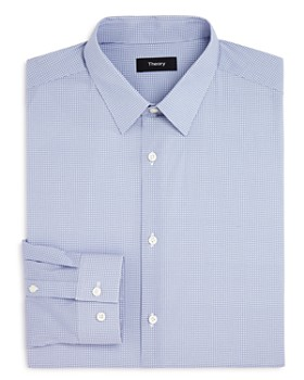 Theory - Micro Print Slim Fit Dress Shirt