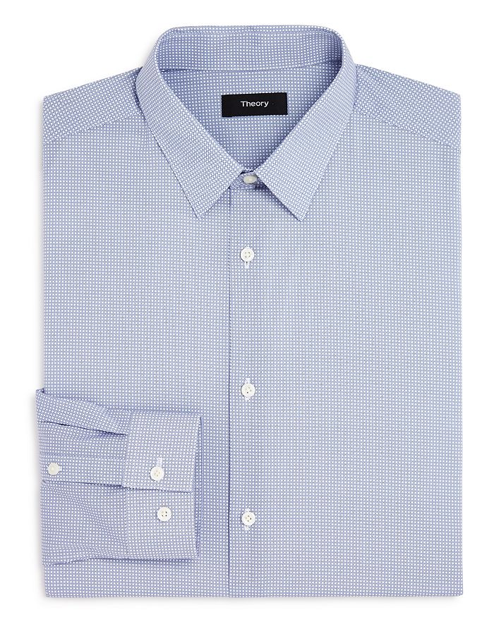 Theory - Micro Print Slim Fit Dress Shirt