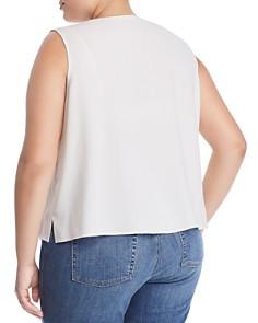 Eileen Fisher Plus - Sleeveless Silk Top