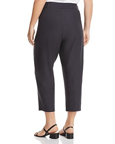 Eileen Fisher Plus - Straight-Leg Cropped Pants