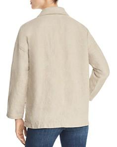 Eileen Fisher Petites - Organic Linen Blazer