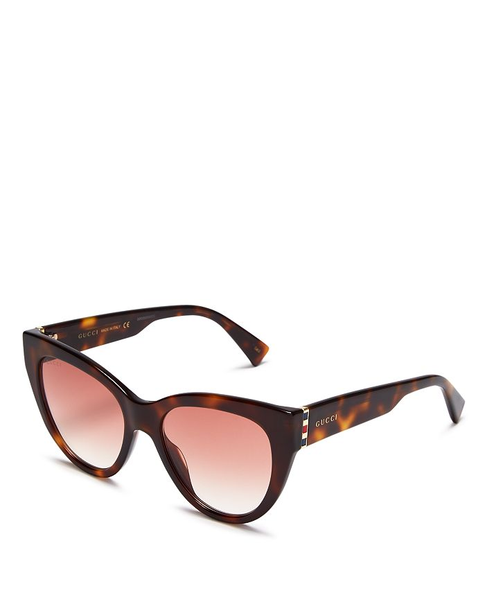 Gucci - Women's Cat Eye Sunglasses, 53mm