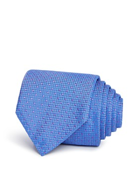 HUGO - Textured Dot Silk Skinny Tie