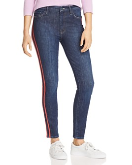 MOTHER - The Looker Frayed Ankle Jeans in Speed Racer - 100% Exclusive