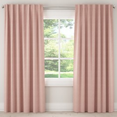 Sparrow & Wren - Click Blush Rod Pocket Curtains