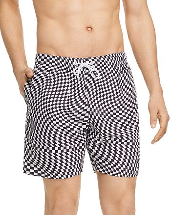 BOARDIES - Checkered Swim Shorts