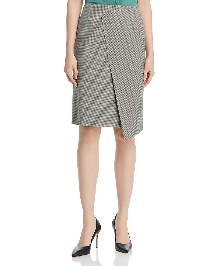 BOSS - Vureta Overlay Pencil Skirt