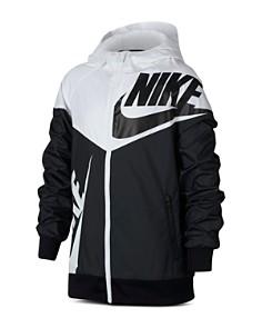 Nike - Boys' Color-Block Windrunner Hoodie - Big Kid