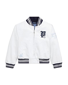Ralph Lauren - Girls' Chino Baseball Jacket - Big Kid
