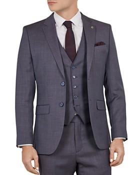 56a444150674 Ted Baker - Bekdebj Debonair Birdseye Slim Fit Suit Jacket ...