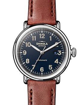 Shinola - The Runwell Cognac Leather Strap Automatic Watch, 45mm