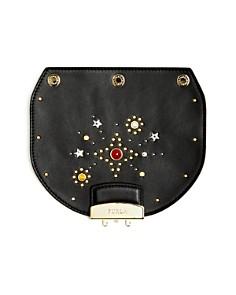 Furla - MY PLAY Interchangeable Metropolis Mini Embellished Leather Flap
