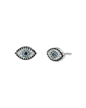 c6f762a8e8795b Michael Kors - Pavé Evil Eye Earrings in Sterling ...