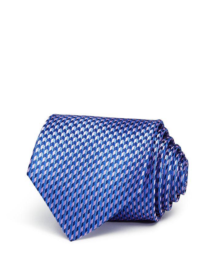 The Men's Store at Bloomingdale's - Multi-Chevron Neat Silk Classic Tie