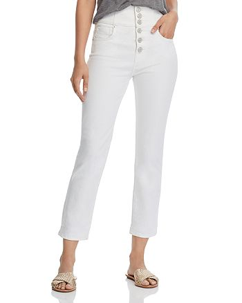Joie - Laurelle Straight Jeans in Porcelain